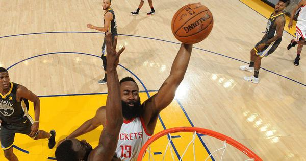 James Harden, Chris Paul help Houston Rockets level series 2-2 against Golden State