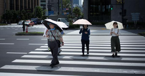 Japan: Temperature hits record high of 41.1 degrees Celsius as heatwave continues