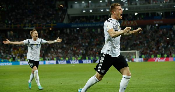 World Cup: Kroos grabs stoppage time winner to keep Germany's campaign alive, beat Sweden 2-1