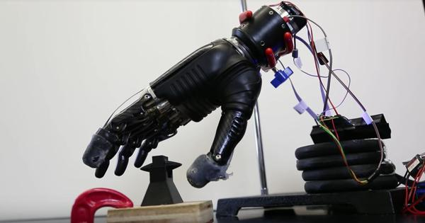 Watch: This electronic skin enables people with prosthetics to get the sensation of touch