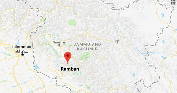 Jammu-Srinagar highway closed after overnight rain triggers landslide