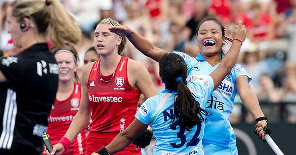 Women's hockey World Cup: India hang on for 1-1 draw in their opening encounter against England