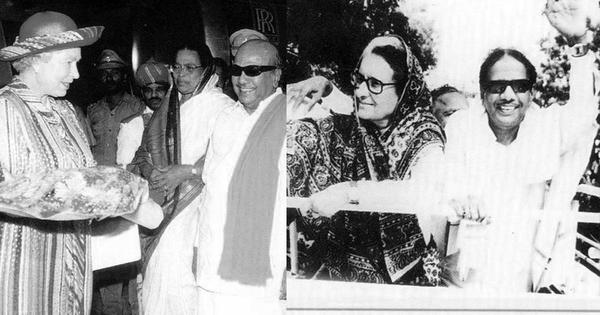 From anti-Hindi protests to meeting Queen Elizabeth II: Glimpses of Karunanidhi over the decades