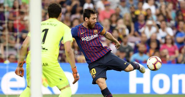 Messi, Suarez bag braces as Barcelona overwhelm Huesca 8-2