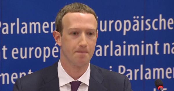 Mark Zuckerberg apologises to European Parliament for data breach, fake news on Facebook