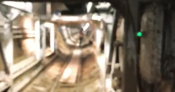Watch: Elon Musk reveals his conveyor belt tunnel for commuters is almost ready