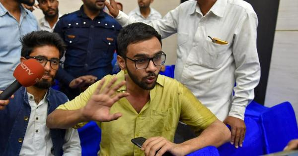 'Real culprits are those breeding an atmosphere of hatred,' says Umar Khalid after being attacked