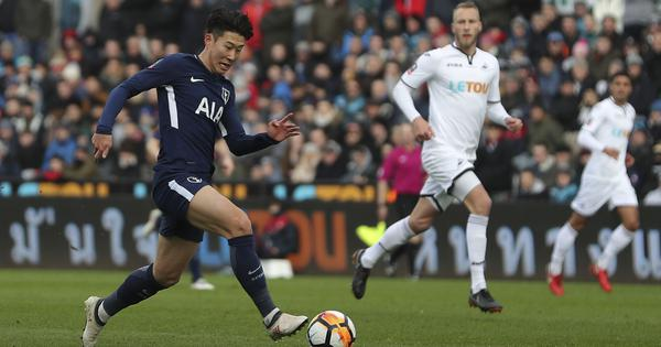 South Korea forward Son Heung-Min signs new five-year contract with Tottenham