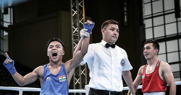 President's Cup: Mizoram boxer N Lalbiakkima stuns Olympic champion Hasanboy Dusmatov to enter SF