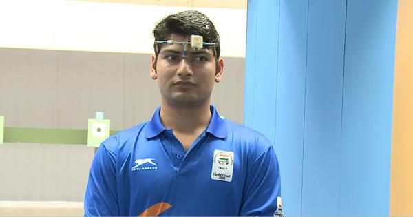Shooting World Cup: Om Prakash Mitharval finishes seventh in the 10m air pistol final