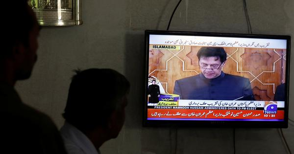 Imran Khan takes oath as Pakistan's new prime minister