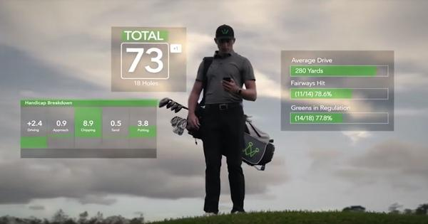 Watch: Who's that advising golfers on the best shot to play? It's an Artificial Intelligence caddy