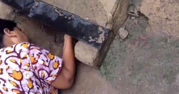 Watch (with heart in mouth): A newborn baby was rescued from a drain in Chennai on Independence Day