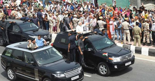 PM Narendra Modi inaugurates expressway that could relieve Delhi of 2 lakh vehicles daily