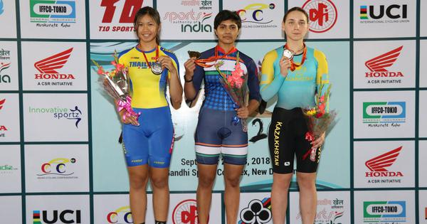 Cycling: Esow and Mayuri win gold to help India finish on top of Track Asia Cup medal tally