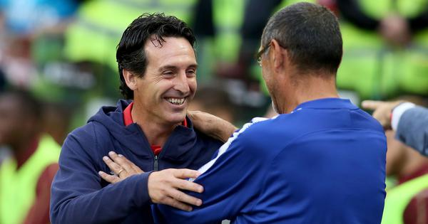 Premier League: Emery's difficult start at Arsenal continues against Sarri's Chelsea