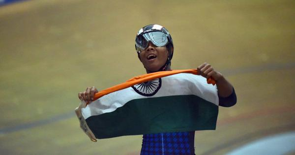 A first for Indian cycling: Andaman and Nicobar's Esow wins silver at the Junior World C'ship