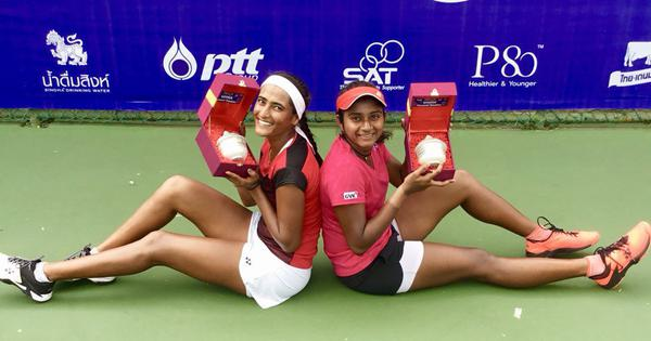 Indian tennis roundup: Rutuja-Pranjala win doubles title, Saketh's run comes to an end