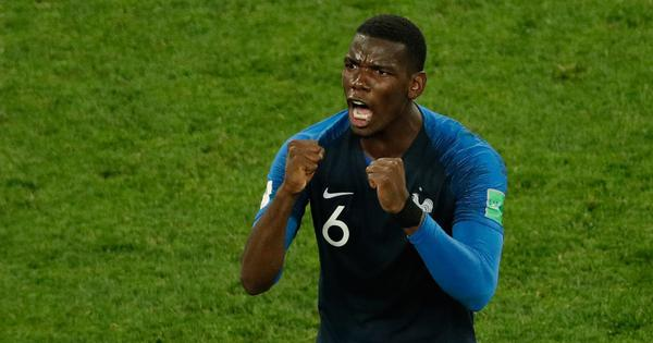 Paul Pogba included in France squad for Nations League matches against Portugal and Croatia