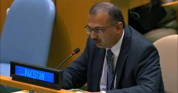 'Breeding ground of terrorism in our region is the RSS centres of fascism,' Pakistan says at UNGA