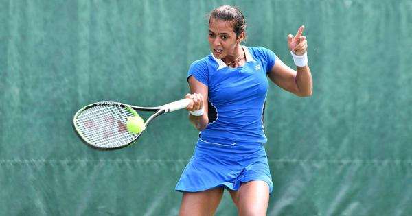 Indian tennis round-up: Ankita suffers a first-round loss in China, Siddharth wins in Indonesia