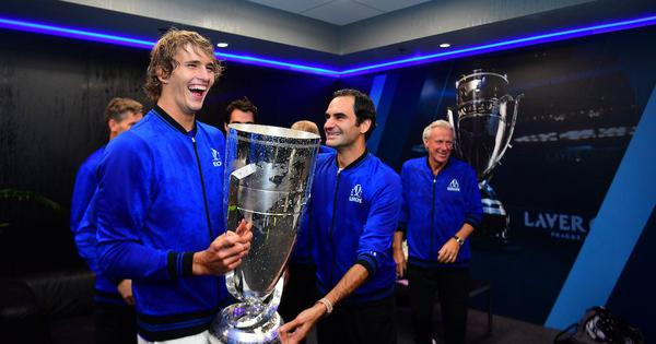 Zverev battles from a set down to beat Anderson and win Laver Cup for Team Europe