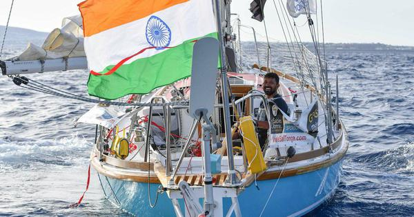 Indian Navy deploys INS Satpura to rescue injured naval officer circumnavigating the globe