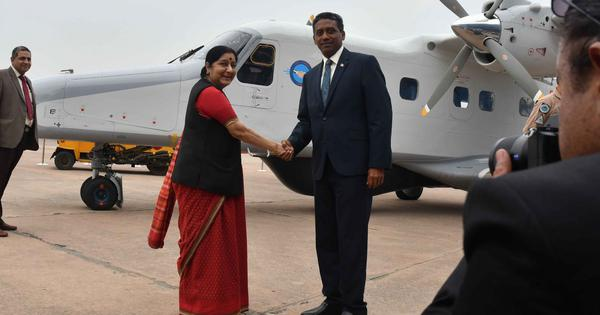 'Seychelles will remain a faithful friend,' says its president after India gifts it an aircraft