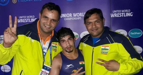 Junior World Wrestling C'ship: Naveen shocks defending champion Daton, Mansi clinches bronze
