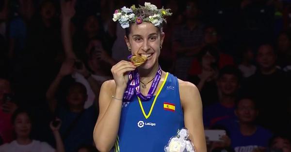 स्पेनिश खिलाड़ी कैरोलिना मारिन
