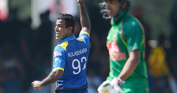 Nuwan Kulasekera steers Sri Lanka to 70-run win against Bangladesh to level ODI series 1-1
