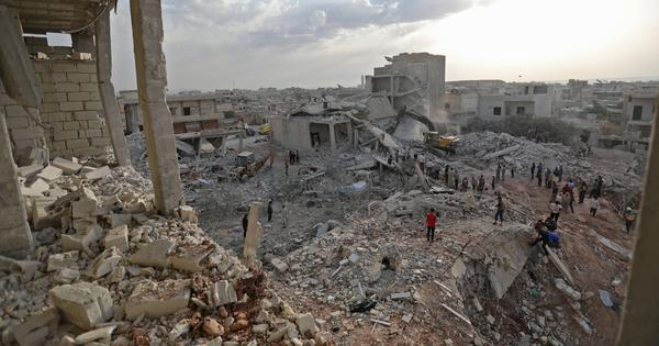 Syria: 44 people killed in airstrikes in rebel-held village, says human rights monitor
