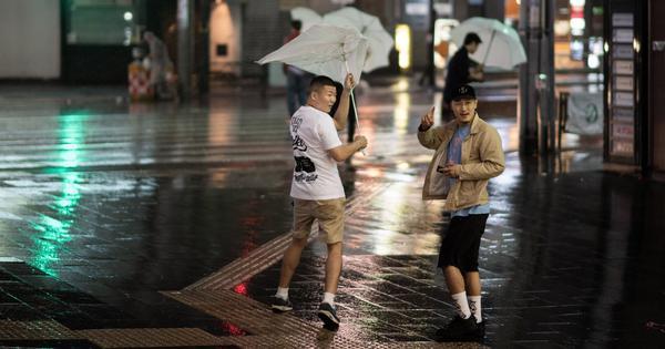 Japan: Typhoon Trami leaves two dead, at least 160 injured