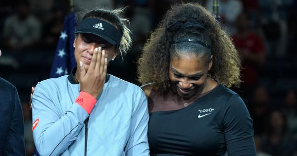 Nerves, not Serena's outburst: Osaka blames US Open tears on her 'notorious' awkwardness