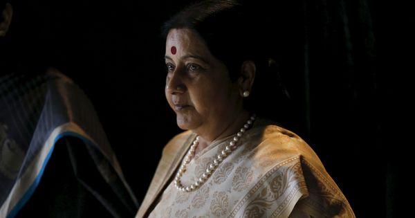 Sushma Swaraj asks Saudi Arabia envoy to help nurse allegedly forced into slavery