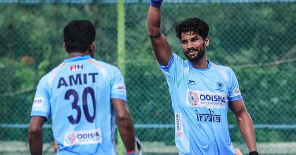 Hockey: Goals from Rupinder, Sunil and Mandeep help India clinch Test series against New Zealand