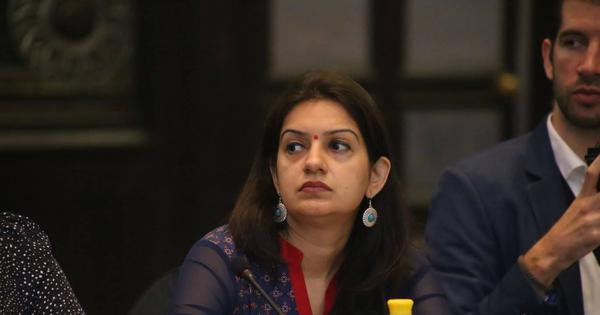 Congress spokesperson criticises party for reinstating leaders who allegedly threatened her