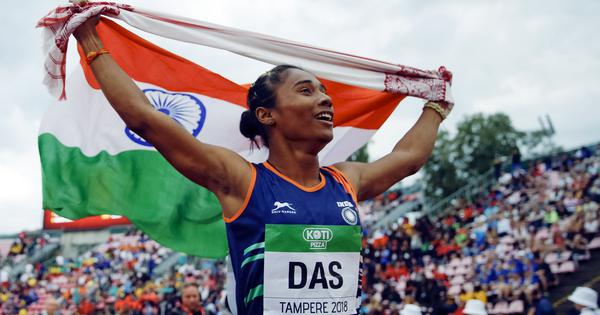 Pause, rewind, play: 'Here comes Hima Das' – when the Indian won a historic gold medal at U20 Worlds
