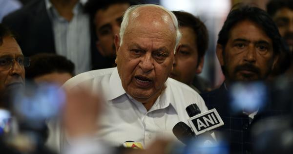 'I will fight for Article 35A till I go down in my grave,' says former J&K CM Farooq Abdullah