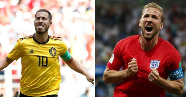 Coutinho or Hazard? Kane or Lukaku? Select your best XI from the Fifa World Cup