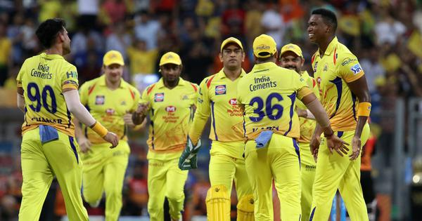 IPL 2018 Final, live: SRH lose Goswami early after Dhoni opts to bowl first