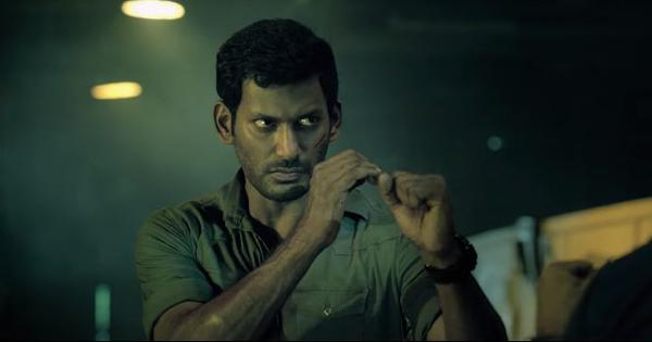 'Irumbu Thirai' makers release scene criticising Aadhaar and Digital India