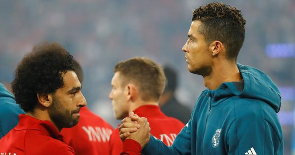 Ronaldo, Modric and Salah make up Uefa Player of the Year's three-man shortlist