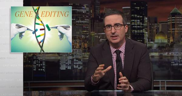 Watch: John Oliver tells us some things we need to know about how gene editing really works