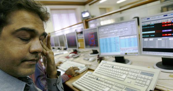 शेयर बाजार में अचानक आई गिरावट से निवेशकों के हजारों करोड़ रुपये डूबे