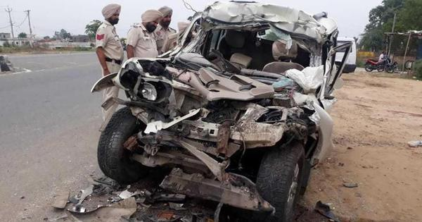 Punjab: Seven killed as their car rams into parked truck on Amritsar-Jalandhar highway