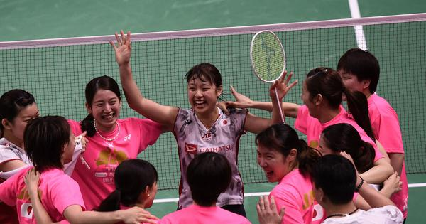 Badminton: Japan thrash hosts Thailand 3-0 to win Uber Cup for first time since 1981