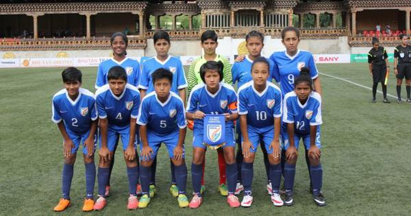 SAFF U-15 Women's Championship football: India thrash Sri Lanka 12-0 to kick-start campaign