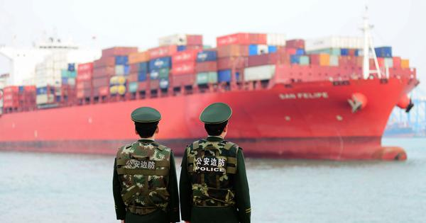 China says no link between stranded Indian cargo ships at its ports and bilateral ties