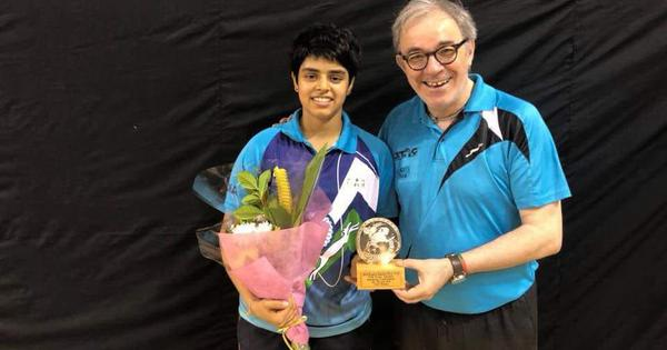Paddler Archana Girish Kamath punches her ticket to Youth Olympic Games